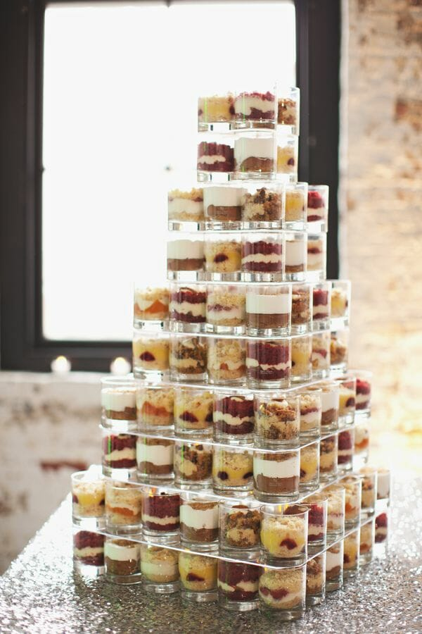 mini layered desserts